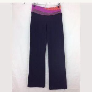 Lululemon Yoga Pants Color Waistband